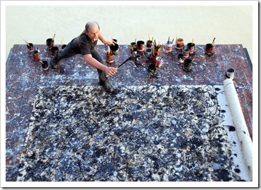 Jackson Pollock, by Joe Fig