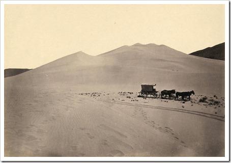 Timothy O'Sullivan - Sand dunes Carson Desert Nevada, 1867